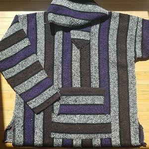 Hippie hoodie sweatshirt